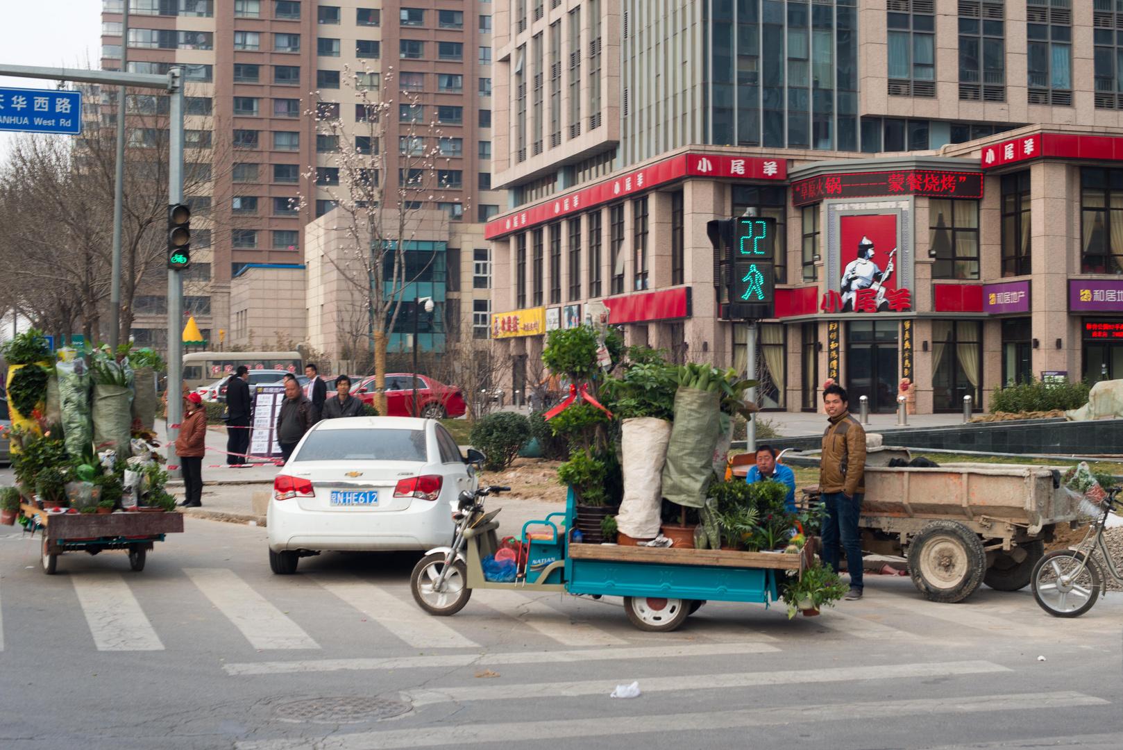 Peking, Straßenhändler