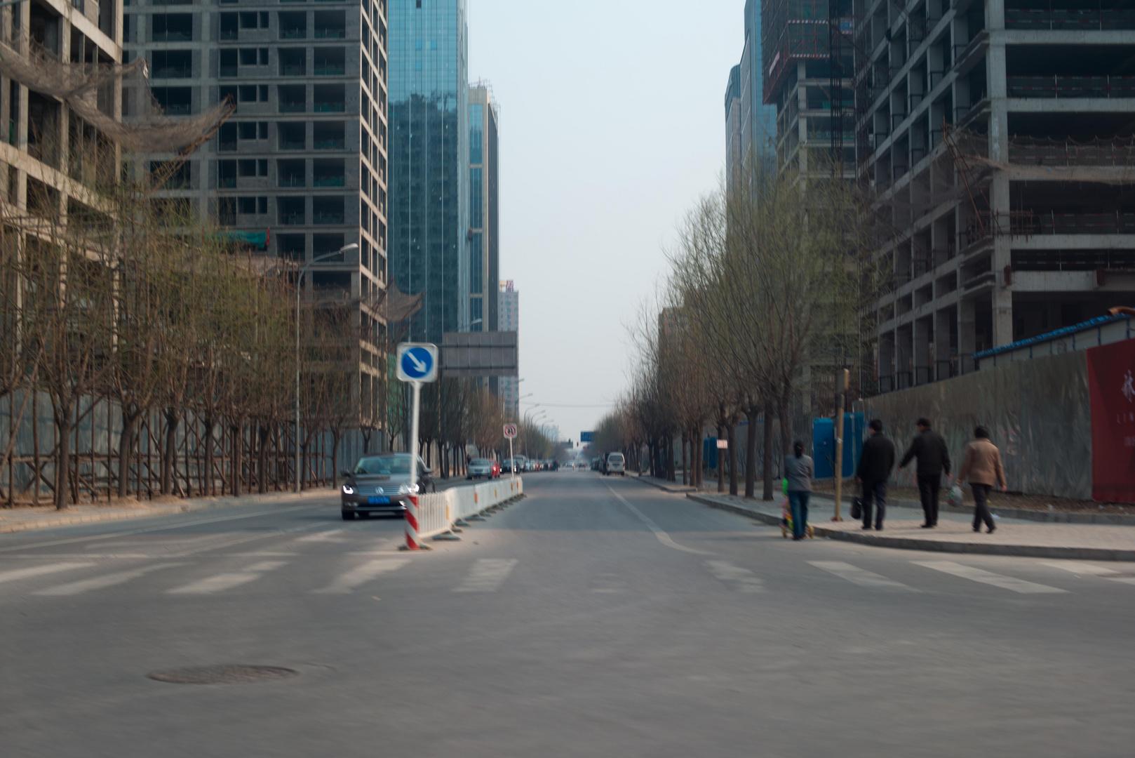 Peking, Straßenschlucht