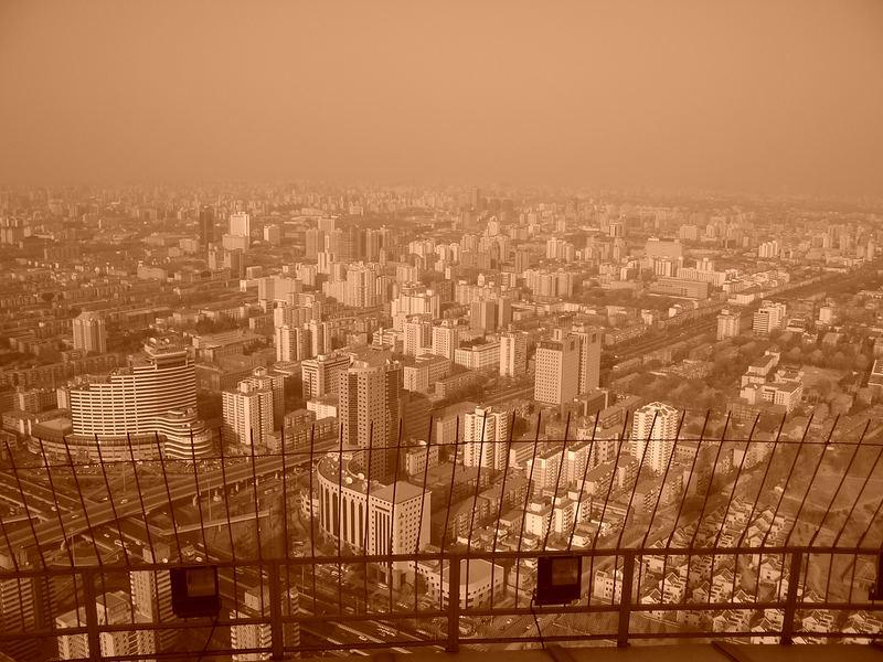 Peking vom Fernsehturm aus