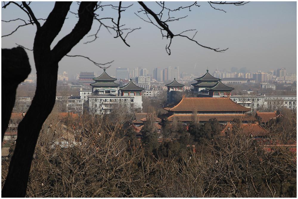 Peking vom Kohle Hügel