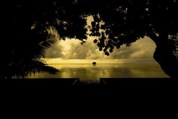 Peleliu Sunset