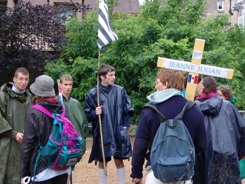 Pelerinage des scouts de France-Chartres-juin 2007