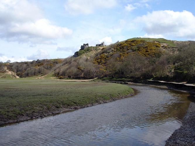Pennard Castle.