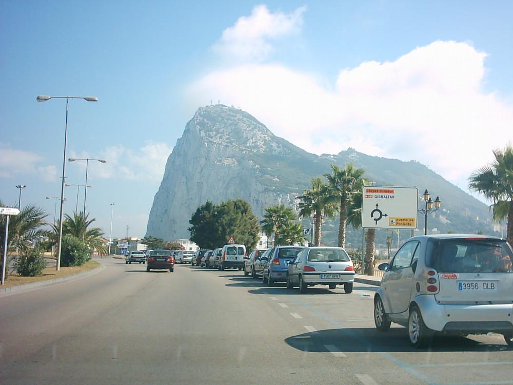 Penon de Gibraltar (España )