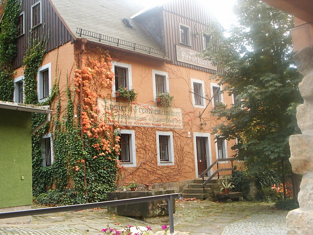 Pension Forsthaus in Schmilka