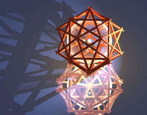 Pentagramm-Dodekaeder