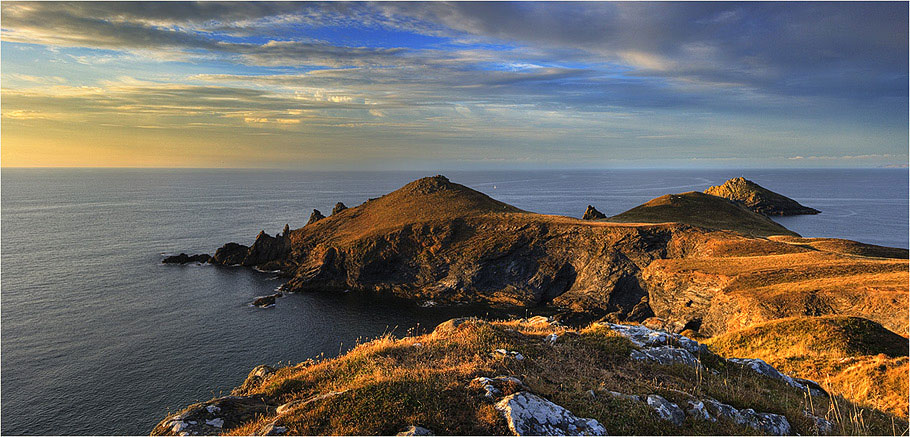 Pentire Point & Rumps Point. Cornwall. UK.