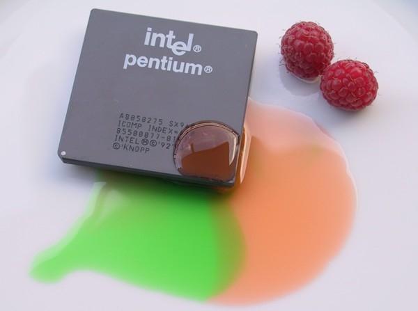 Pentium zum Nachtisch