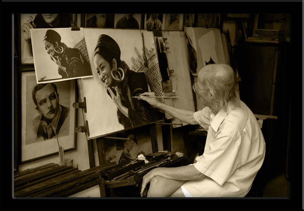 People of Vietnam - Artist