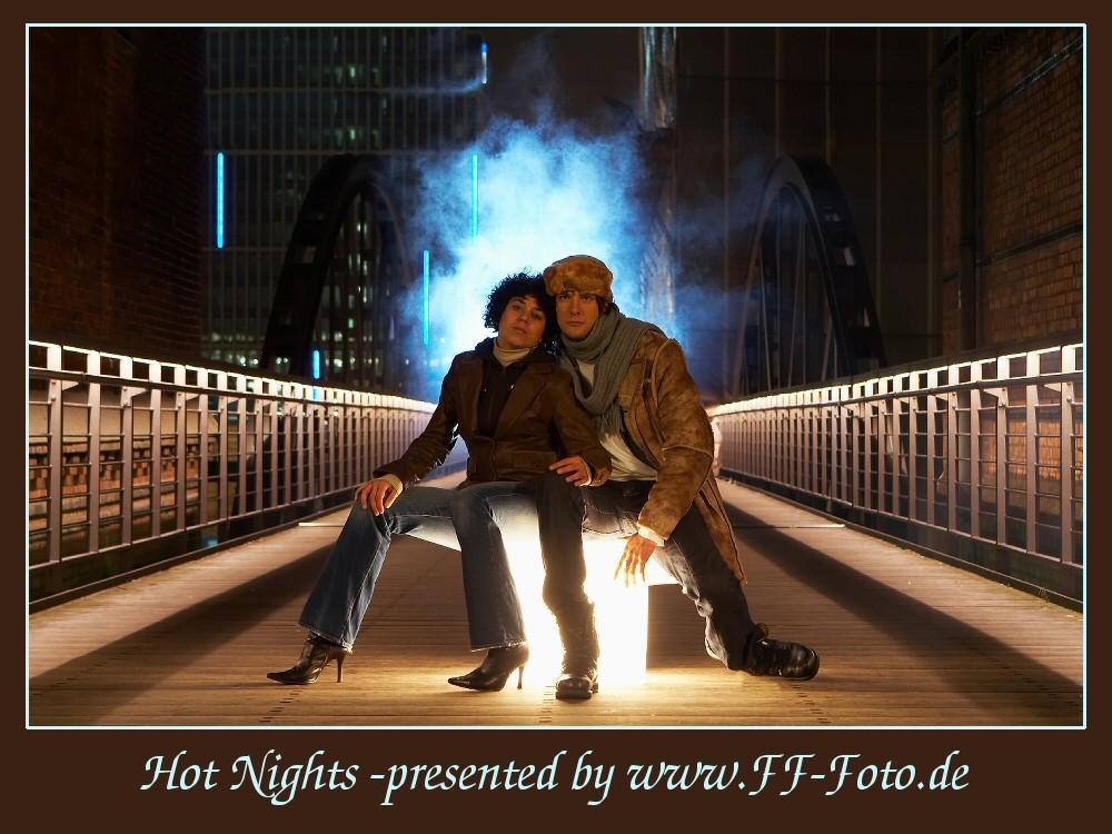 Peoplefotografie bei Nacht - Heiße Geschichte