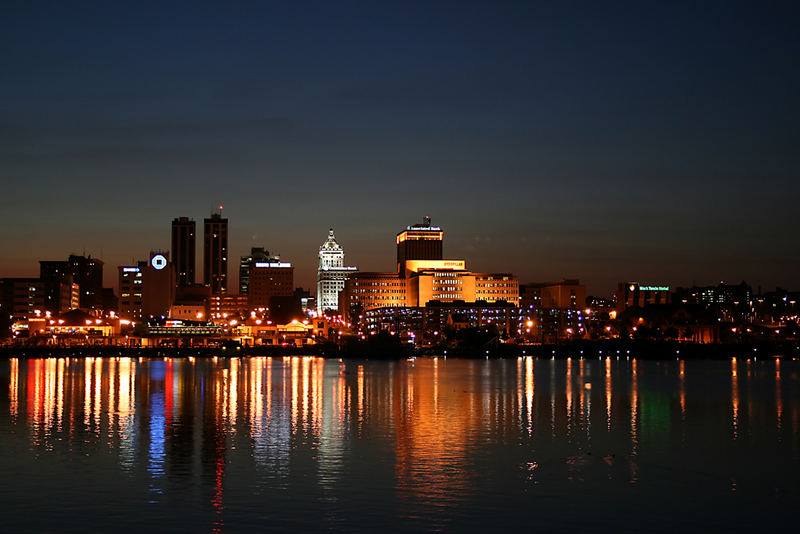 Peoria at sundown