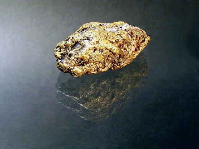 Pepite ( Nugget; Goldklumpen. )
