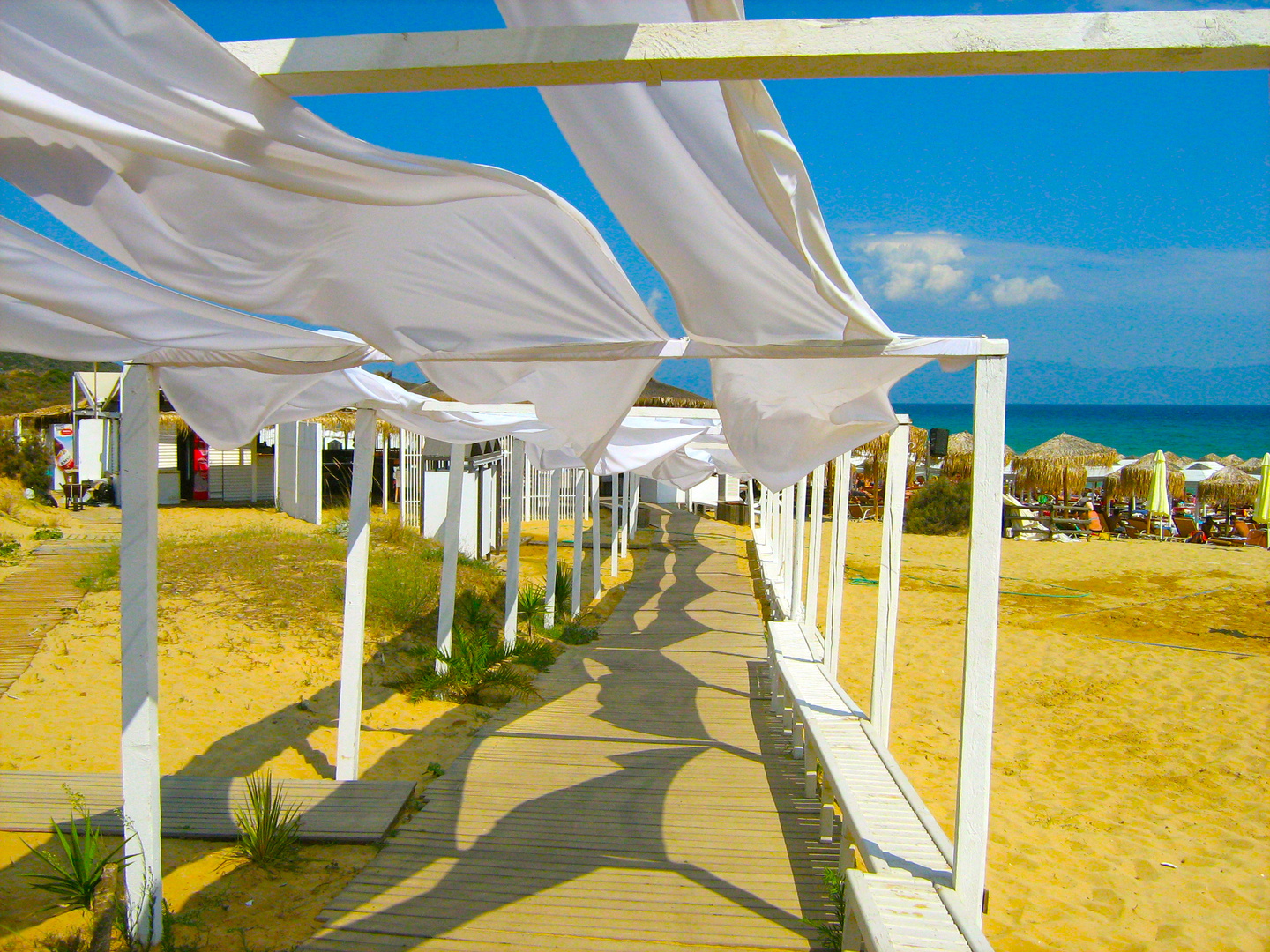Peponi Beach Bar - Kavala - Nea Peramos - Greece