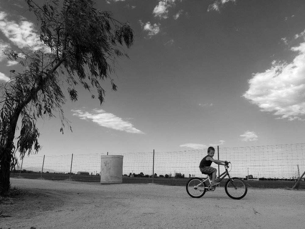 Pequeño ciclista