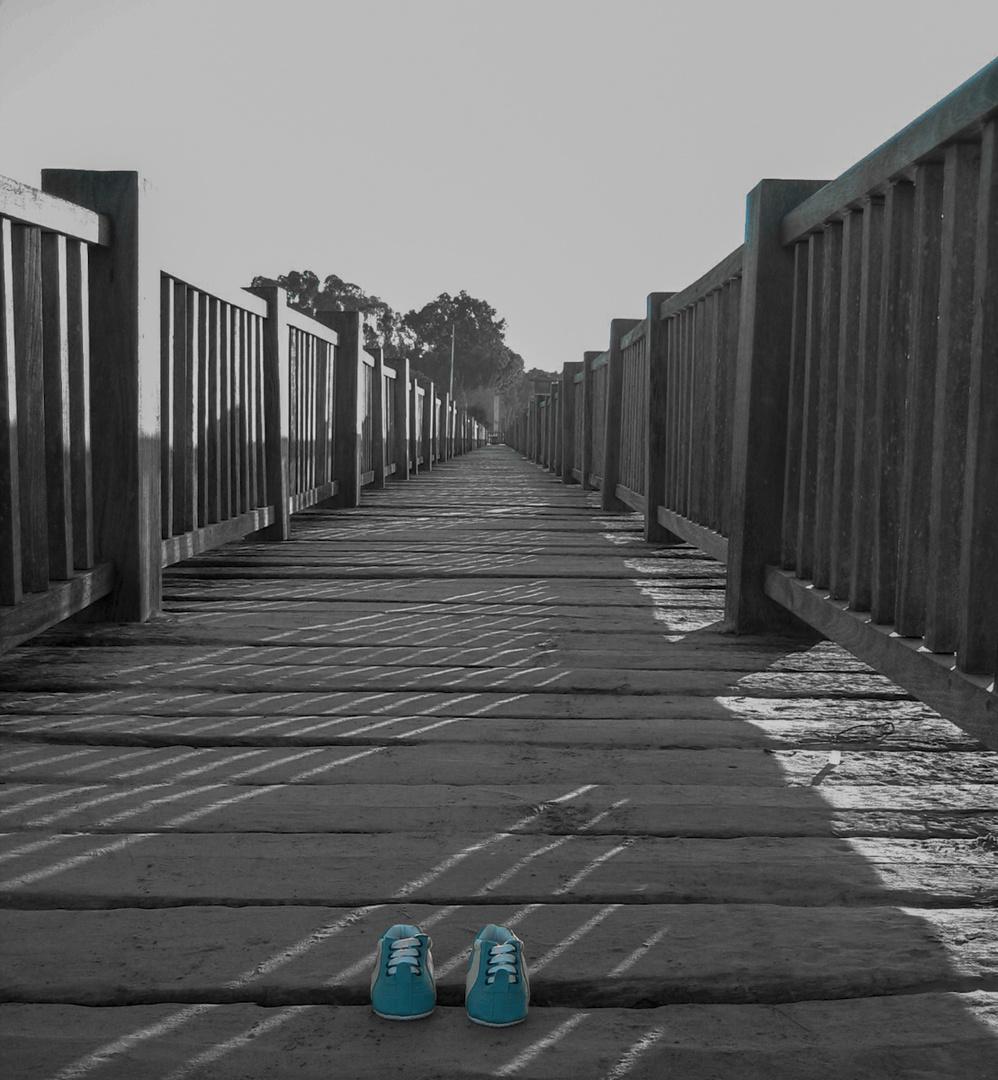 Pequeños pasos en pasarela