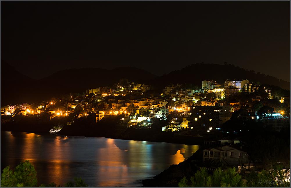 ...Pequera bei Nacht...