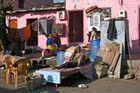 per Fahrradrikscha durch die Strassen von Jaipur/ Indien