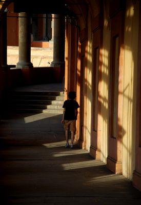 per le antiche scale