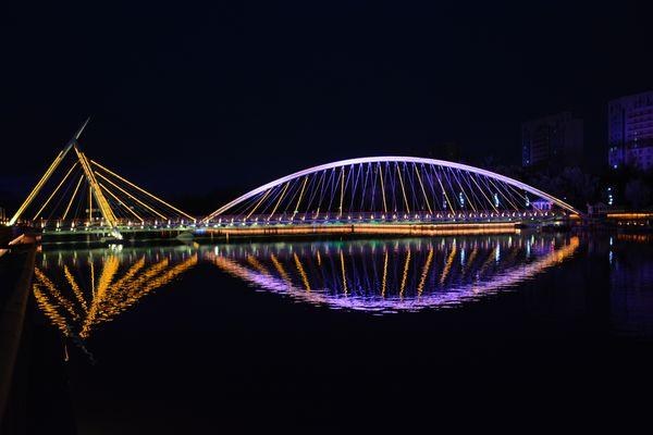 Per le vie di Qingdao (Cina) - the Fish Bridge