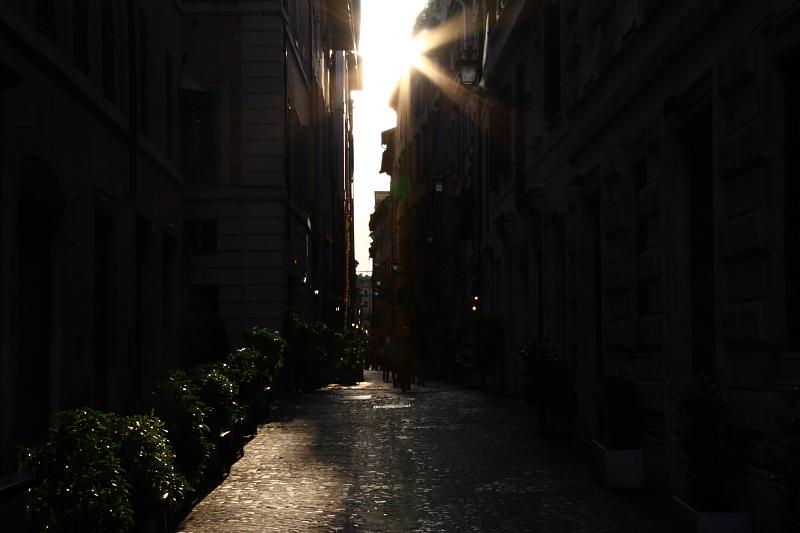 Per le vie di Roma