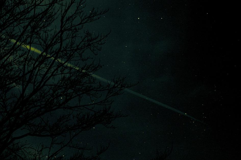 per nachtflug durch die galaxis