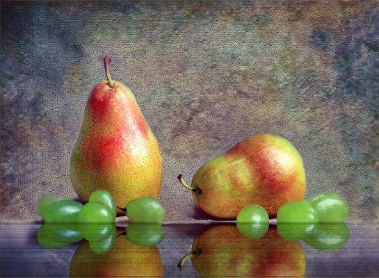 Peras y uvas