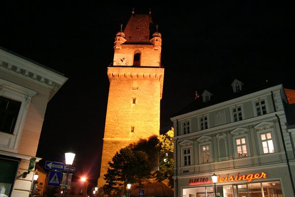 Perchtoldsdorf bei Nacht