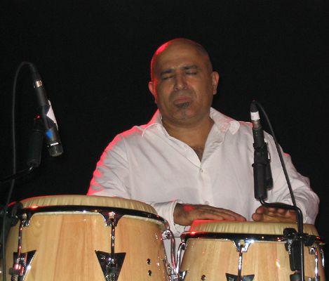 Percussionist Hakim Ludin