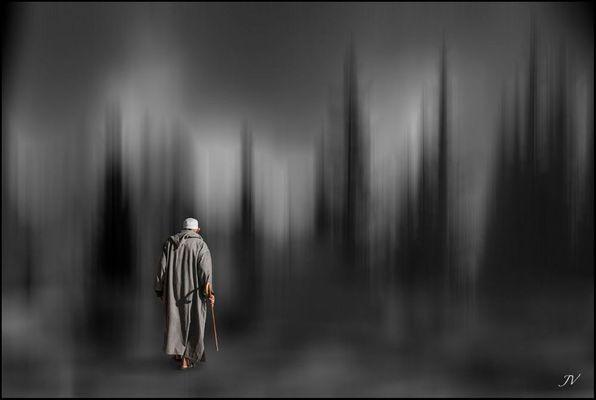 Perdido en su soledad