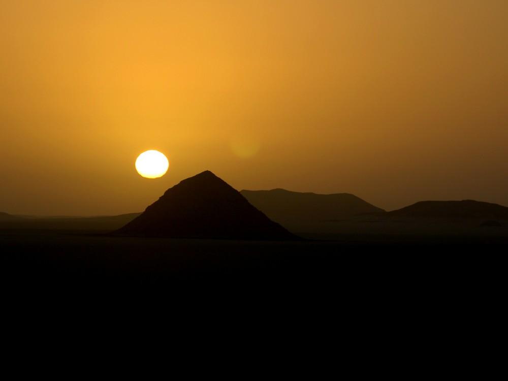 perdu au milieu du desert