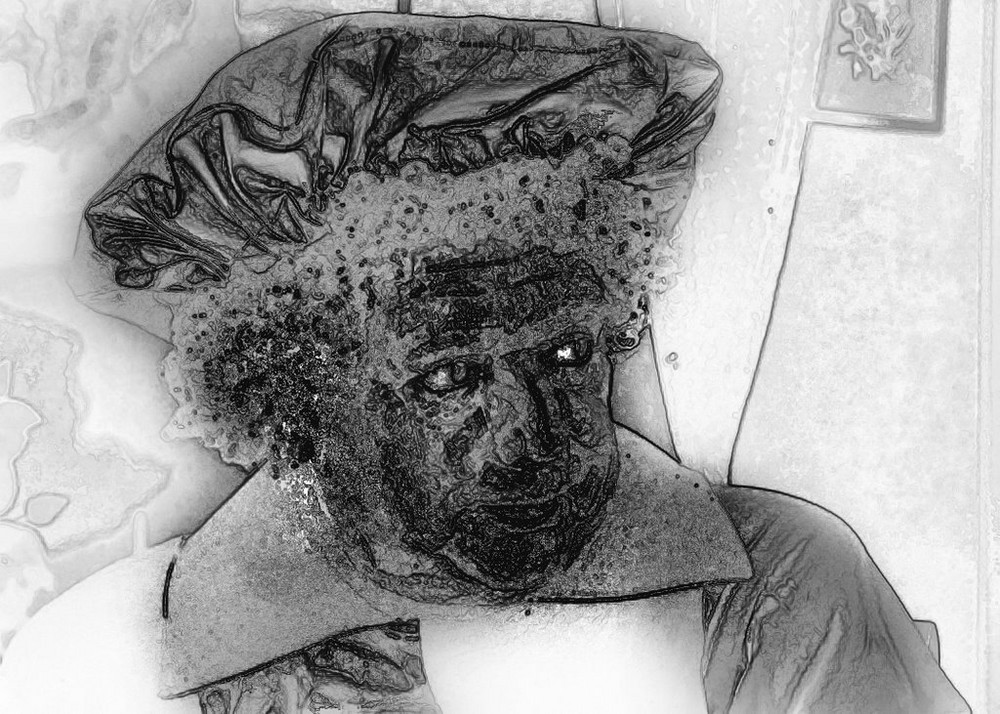 Père fouettard Zwarte Piet revue par Domcho