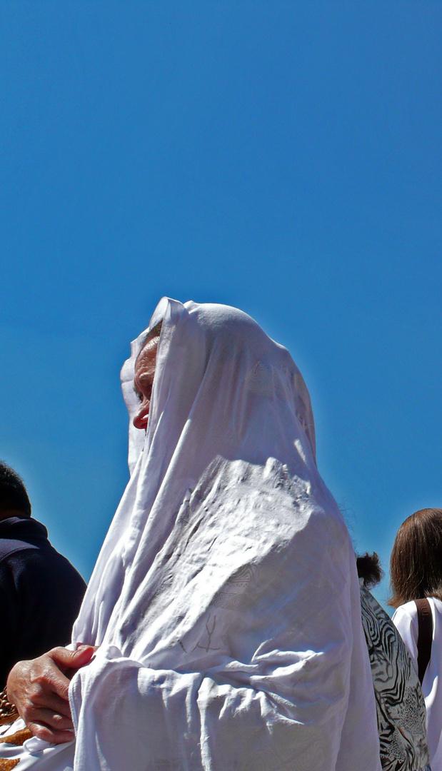peregrina en Guadalupe