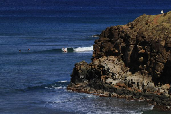 Perfect Surf in der Honolua Bay