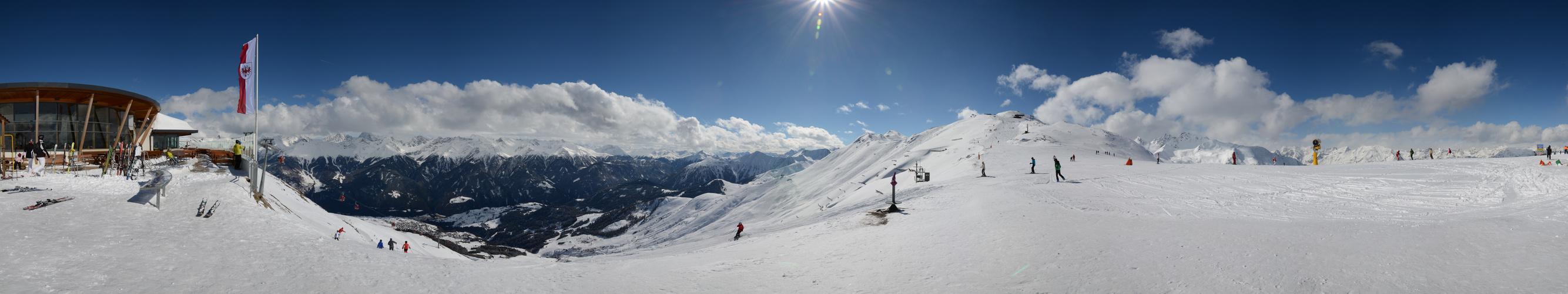 Perfektes Skiwetter