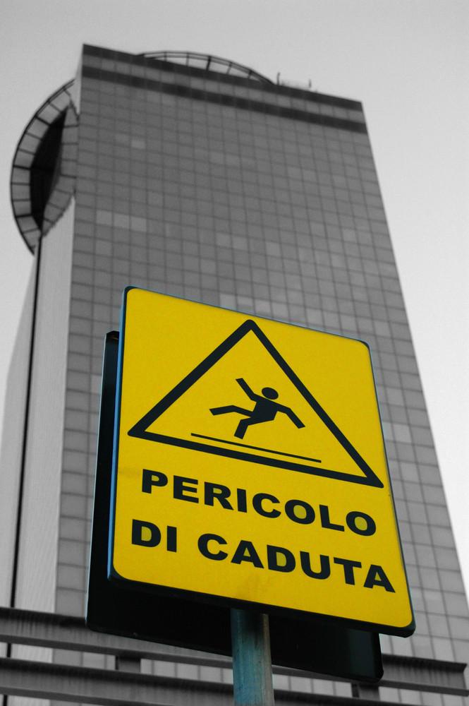 Pericolo di caduta