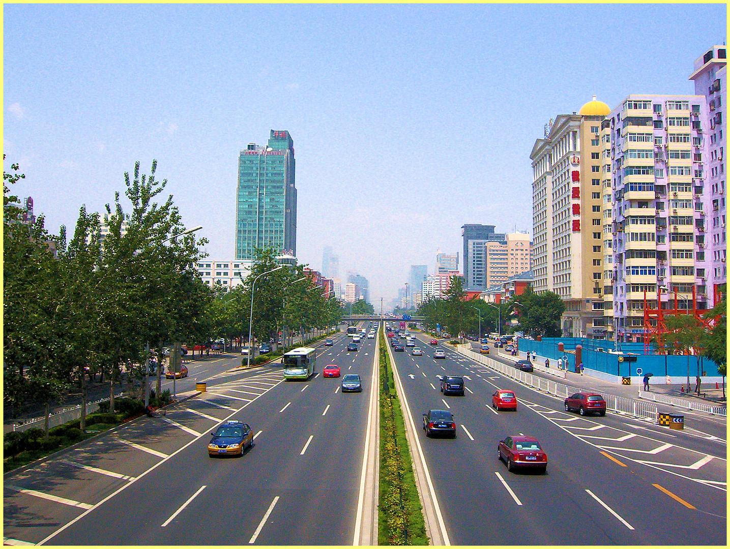 Périphérique à Beijing...