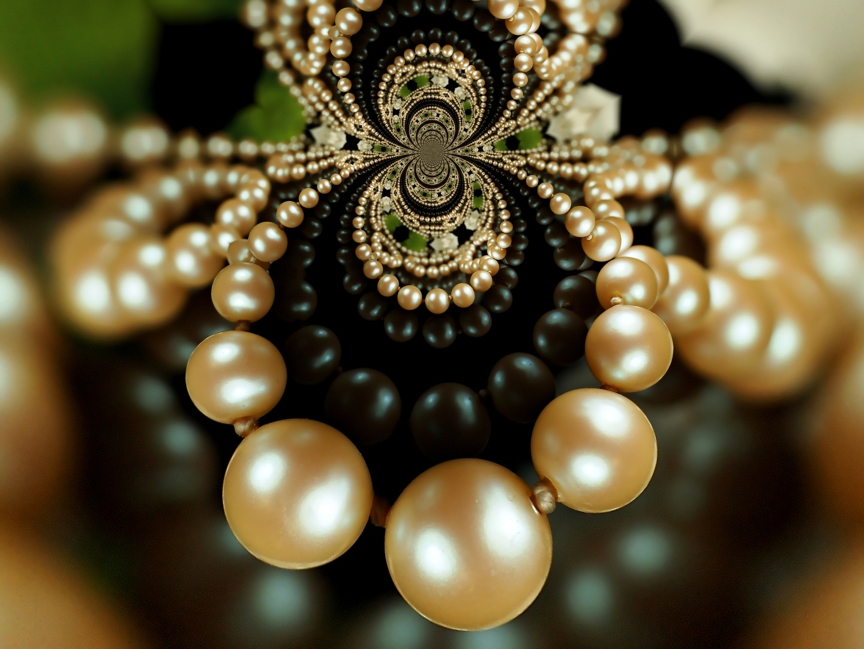 Perlenkette...