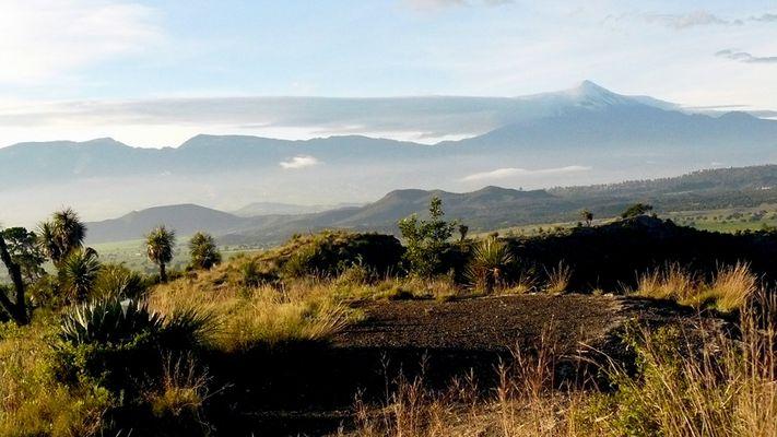 Perote visto desde Atexcac