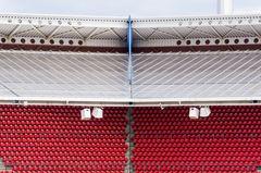 Persektive im Stadion
