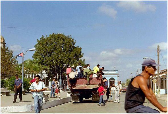Personenbeförderung auf Cuba