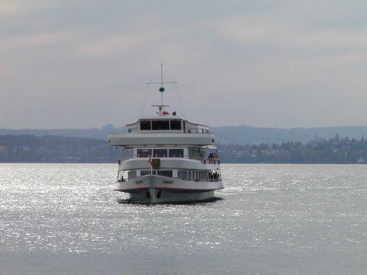 Personenschiff auf dem Bodensee