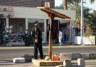 Personenschutz auf Luxors Straßen,