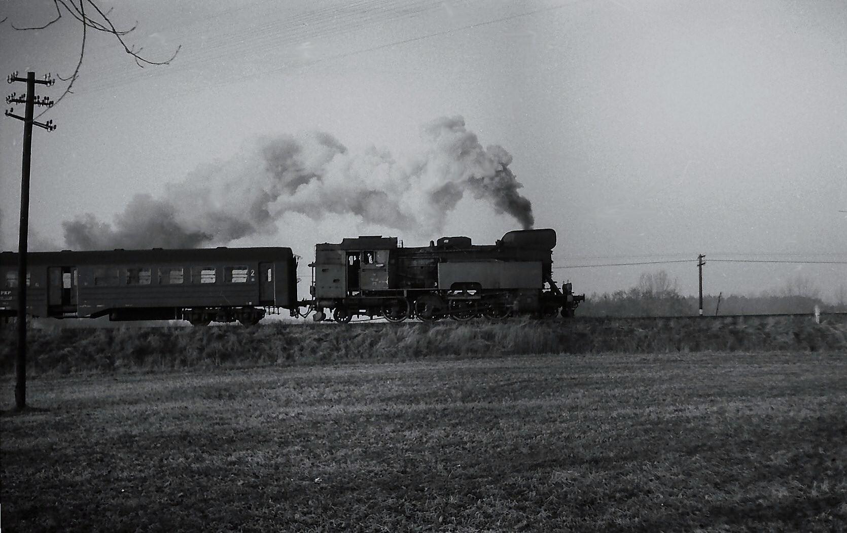 Personenzug nach Srem