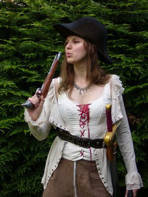 personnage Adelaide de Forbin GN pirate