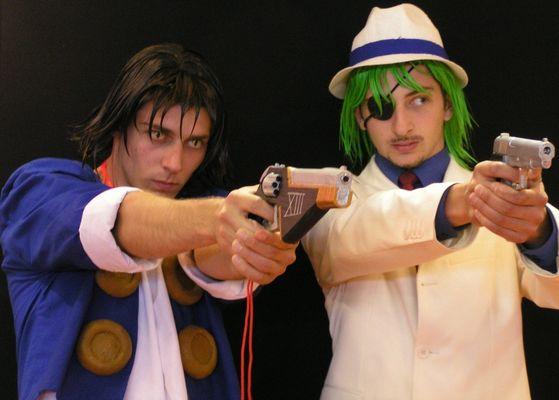 Personnages de Manga à la Japan Expo