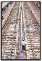 ¿Perspectiva, jugando a trenes, comprobando el paralelismo de las vías....?