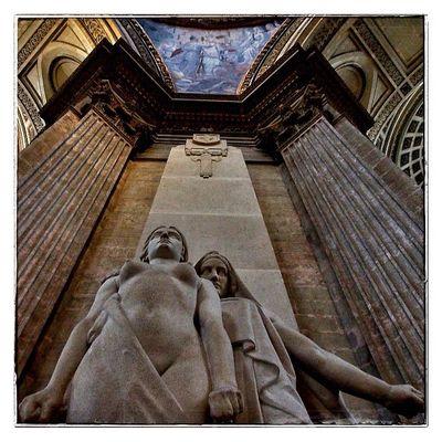 Perspective au Panthéon