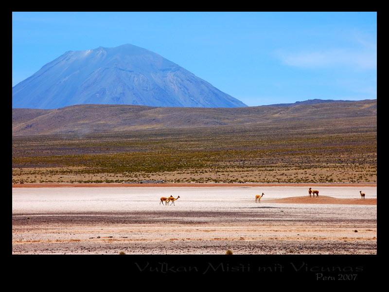 Peru 2007 / Altiplano (Vulkan Misti)