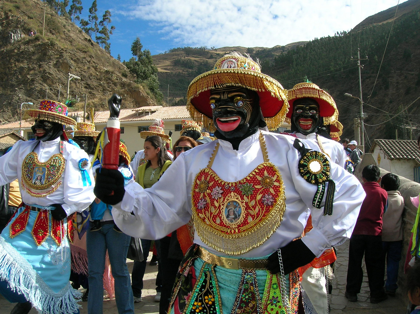 Peru - Cusco - Paucartambo - Fiesta Virgen del Carmen