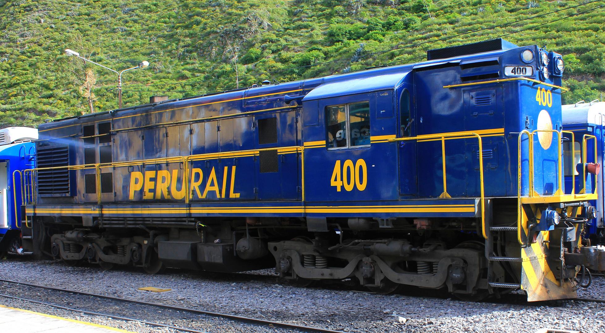 Peru rail!!!